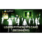 Learn Python, it's CAKE (Beginners) (Mac & PC) Discount