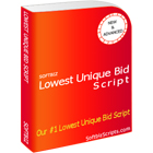 Lowest Unique bid script (Mac & PC) Discount
