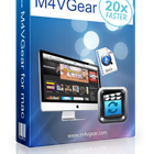M4VGear DRM Media Converter for Mac (Mac & PC) Discount