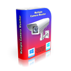 Multiple Camera Monitor empowers you to monitor multiple cameras from a single location, either webcams or IP cameras.