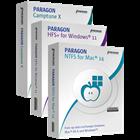 Paragon 3-in-1 Mac Bundle: NTFS for Mac 14 & HFS+ for Windows 11 & Camptune X (Mac & PC) Discount
