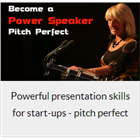 Powerful presentation skills for start-ups - pitch perfectDiscount