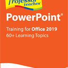 Infografik: Professor Teaches PowerPoint 2019 for PC