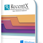 The fastest way to access recently used files, folders, applications, and websites.  RecentX stores everything in a convenient, filterable, immediately accessible list.
