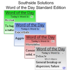 Southside Solutions Word of the Day 3Discount