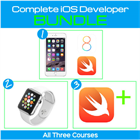 Swift, iPhone & Apple Watch 3 Course Bundle – Go From Newbie to Complete iOS Developer for Mac – 88% Off