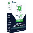 Thor Premium protects you from financial malware threats from all websites, both safe and flagged, blocking infected pages and displaying a warning message.