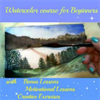 Watercolor painting course for beginner level (Mac & PC) Discount