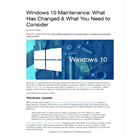 Windows 10 Maintenance: What Has Changed and What You Need to Consider (Mac & PC) Discount