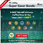Windows Super Saver Utility Bundle (PC) Discount