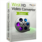 Want to play videos on your computer, TV or mobile devices without any issue? Always out of memory due to the bulky size of 4K video? Digiarty is offering licensed copy of WinX HD Video Converter Deluxe for free to help you download, convert, compress and edit any video with No.1 fast speed and high quality.