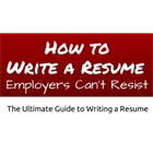 Write a Resume Employers Can't Resist! (Mac & PC) Discount