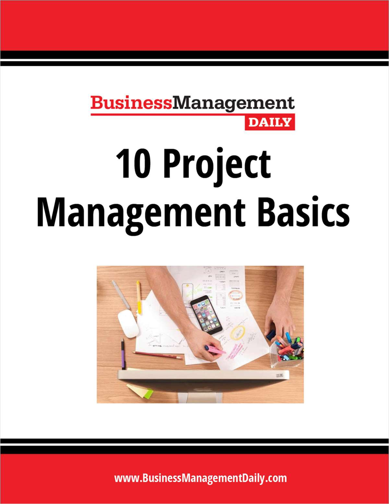 10 Project Management Basics Screenshot