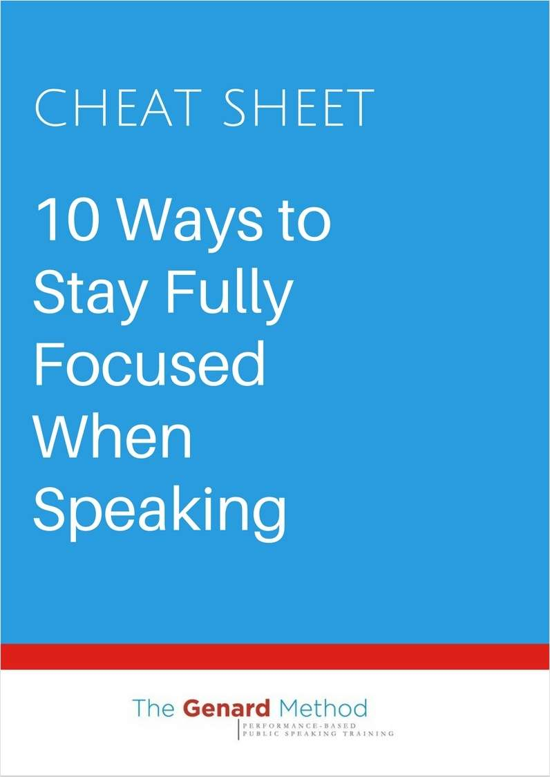 10 Ways to Stay Fully Focused When Speaking Screenshot