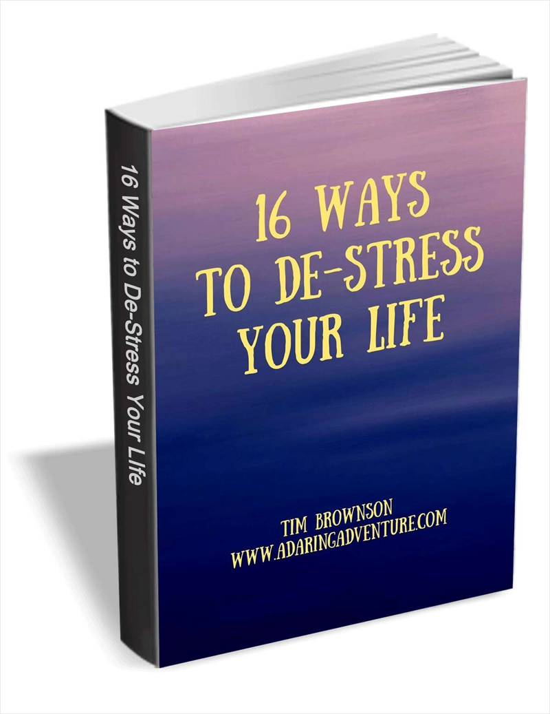 16 Ways to De-stress Your Life Screenshot