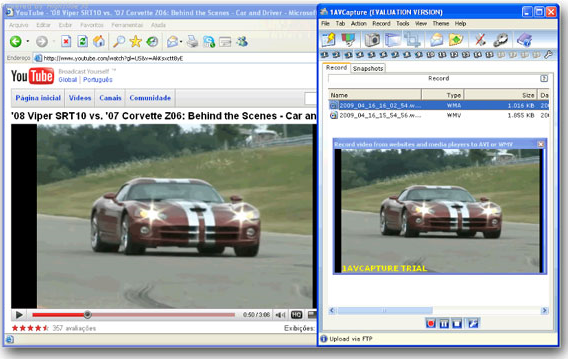 1AVCapture, Video Capture Software Screenshot