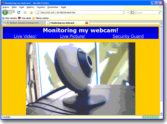 1AVMonitor, Activity Monitoring Software Screenshot