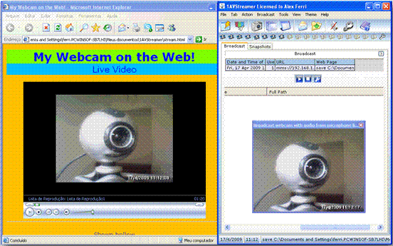 1AVStreamer Screenshot
