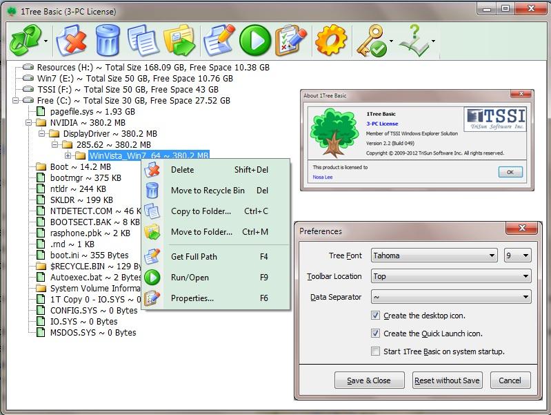 1Tree Basic Screenshot