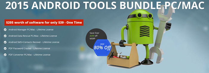 2015 Android Tools Bundle Screenshot