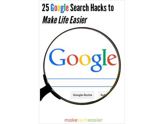 25 Google Search Hacks to Make Life Easier Screenshot