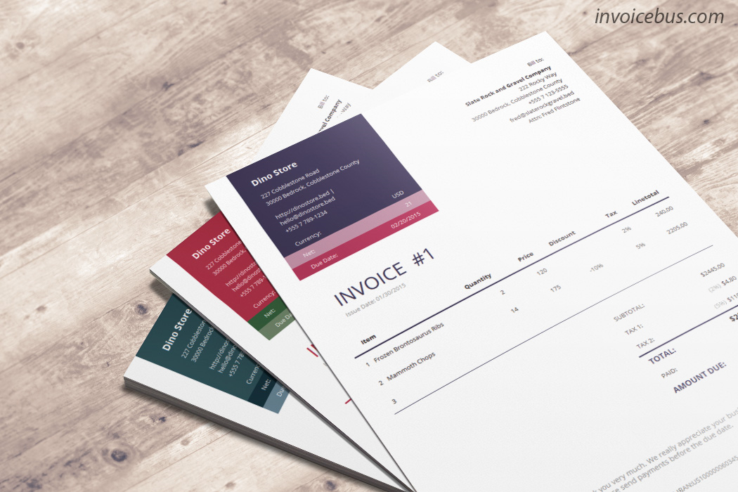 40+ interactive invoice templates - accounting software - 90%, Invoice examples