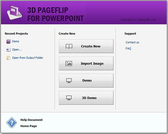 3D PageFlip for PowerPoint Screenshot