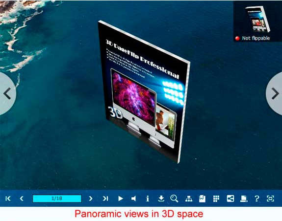eBook Software, 3D PageFlip Professional Screenshot