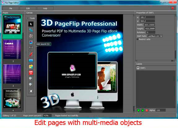 3d pageflip professional ebook software 30 off mac pc. Black Bedroom Furniture Sets. Home Design Ideas