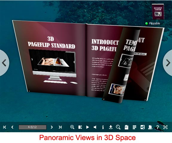 eBook Software, 3D PageFlip Standard Screenshot