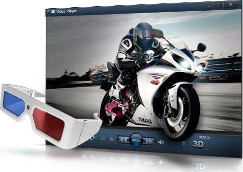3D Video Player Screenshot