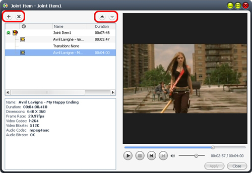 Video Software, 4Media Video Converter Ultimate Screenshot