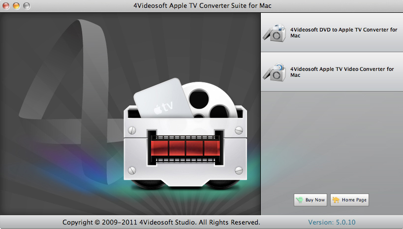 4Videosoft Video Converter Ultimate for Mac Screenshot