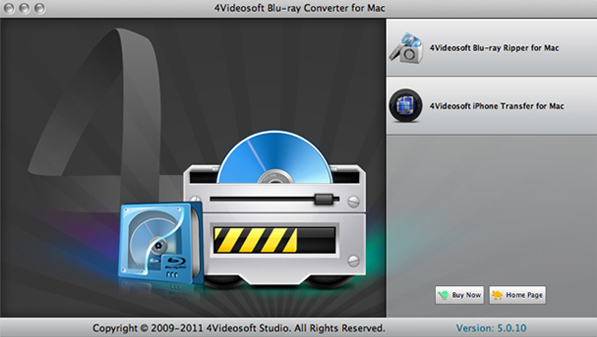 4Videosoft Blu-ray Converter 7, Video Software Screenshot