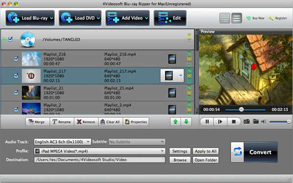 Video Converter Software, 4Videosoft Blu-ray Converter 7 Screenshot