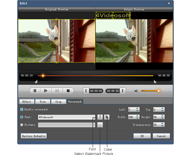 Video Converter Software, 4Videosoft Blu-ray Ripper Screenshot
