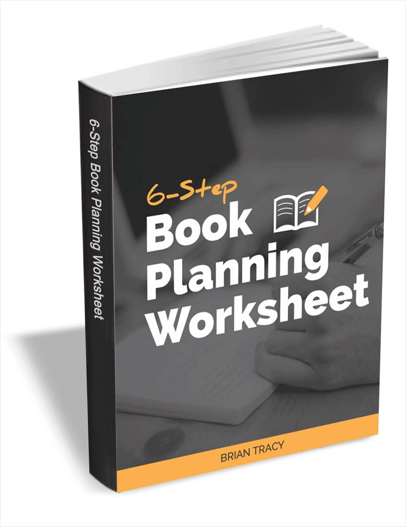 6-Step Book Planning Worksheet Screenshot