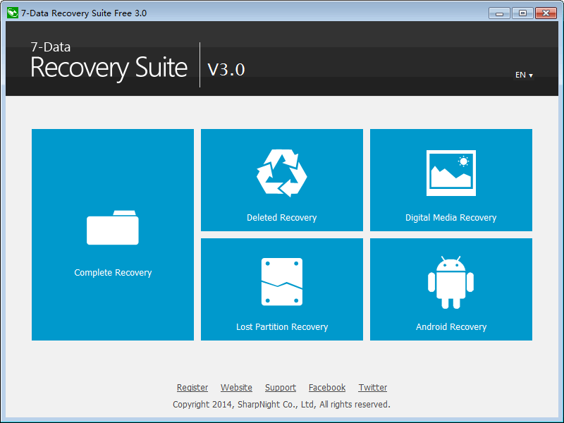 7-Data Recovery Suite [1 Year] Screenshot