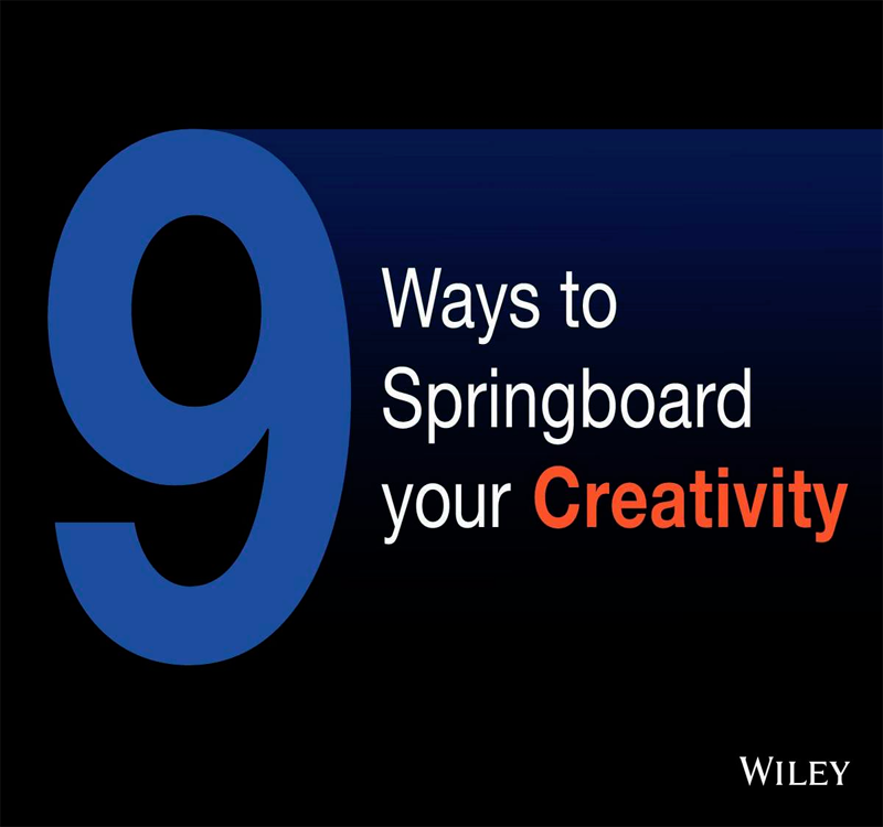 9 Ways to Springboard your Creativity Screenshot