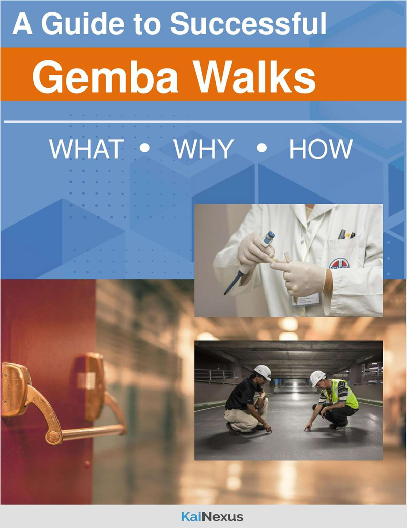 A Guide to Successful Gemba Walks Screenshot