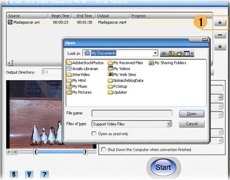 A-one iPod Video Converter Screenshot
