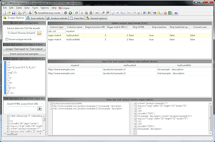 Web Development Software Screenshot