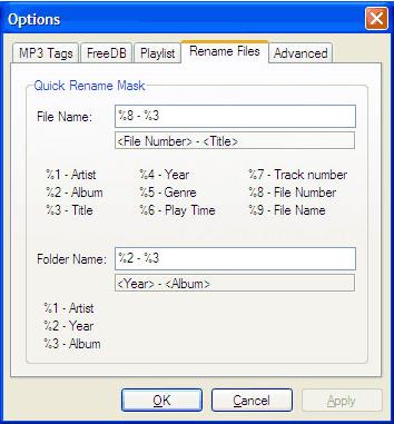 ABF Audio Tags Editor, Audio Software Screenshot