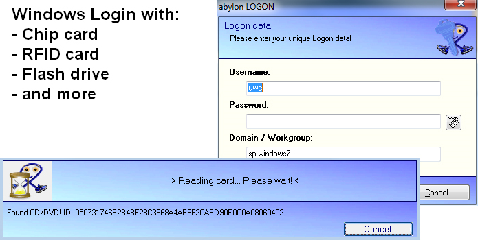 abylon LOGON Screenshot