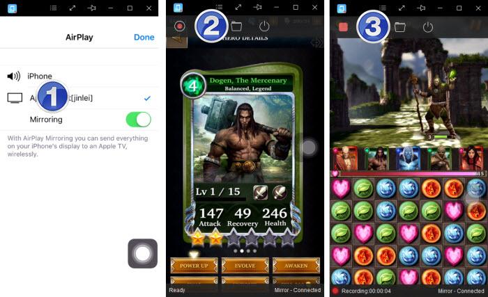 AceThinker iPhone Screen Recorder Screenshot