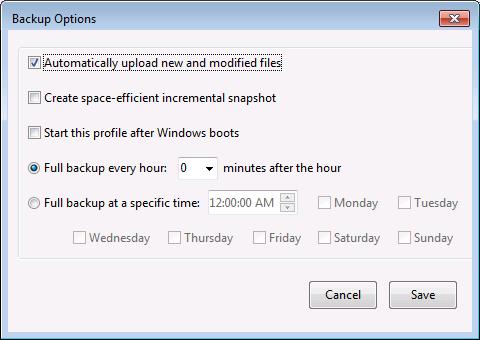 Acrosync, File Management Software Screenshot