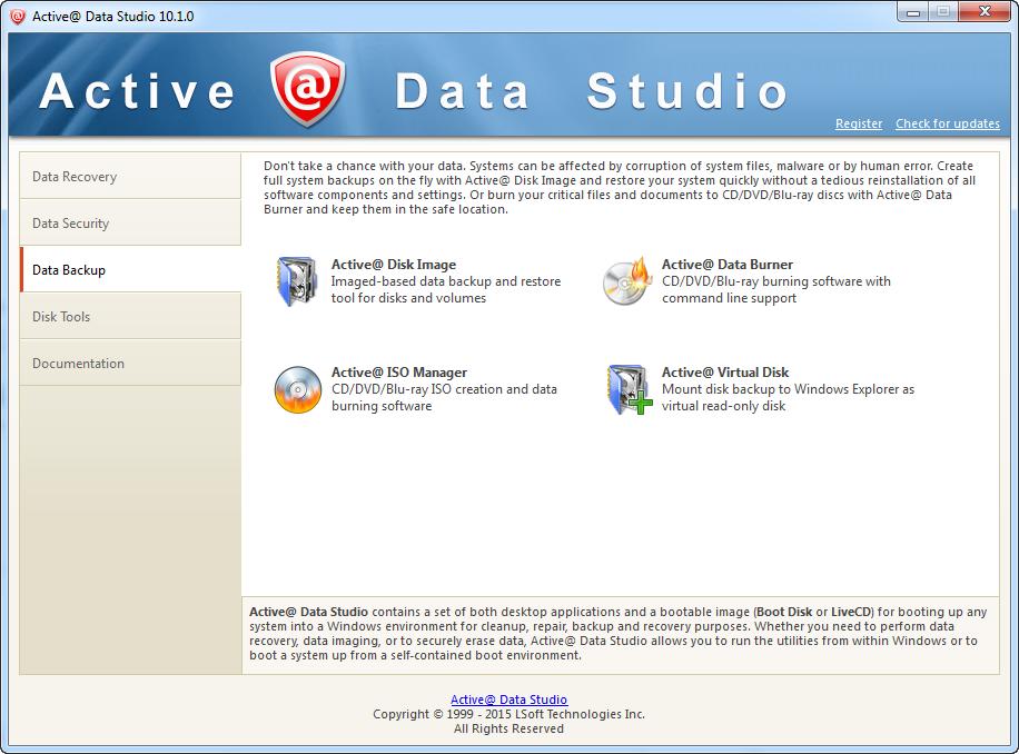 Active@ Data Studio, Other Utilities Software Screenshot