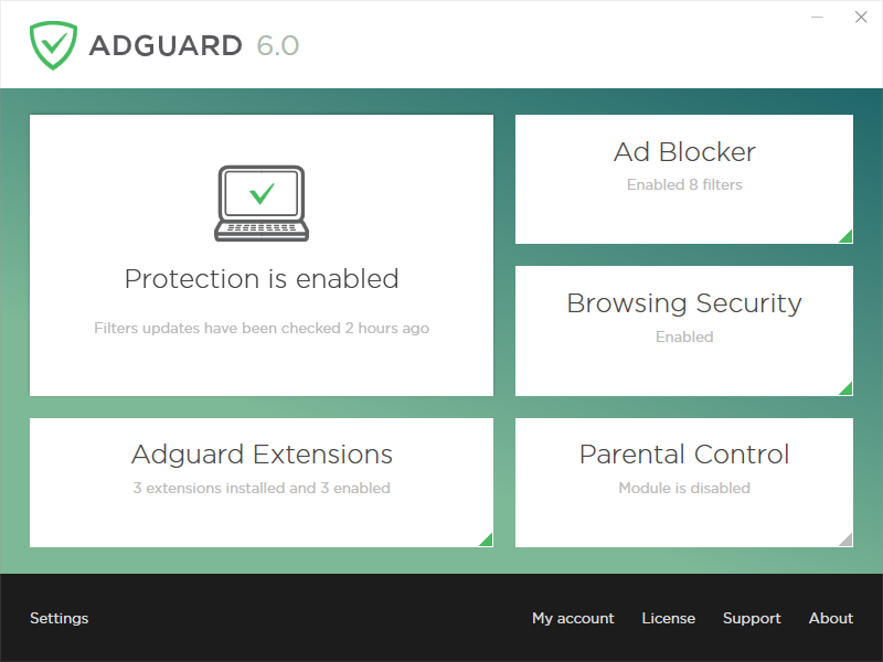 Adguard Premium Protection Screenshot