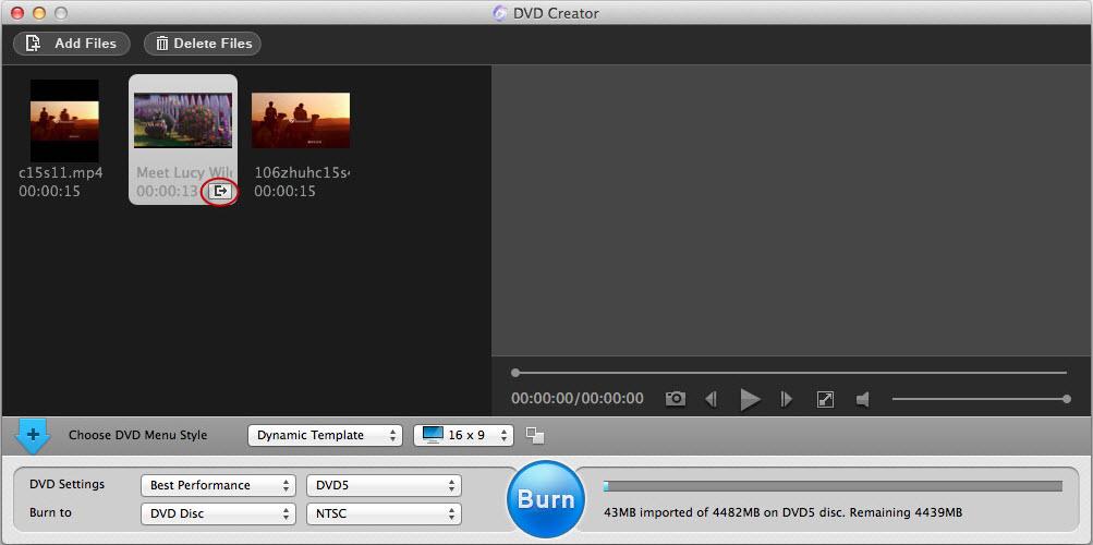 Adoreshare DVD Creator for Mac, DVD Ripper Software Screenshot