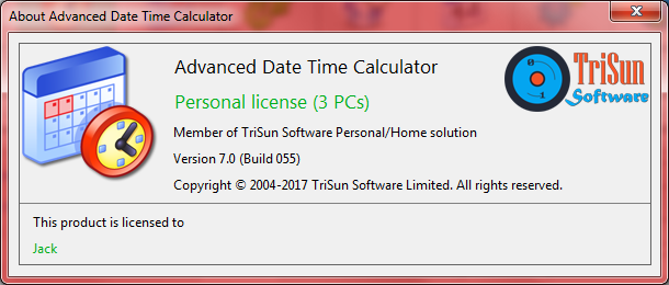 Advanced Date Time Calculator, Productivity Software, Calculator Software Screenshot